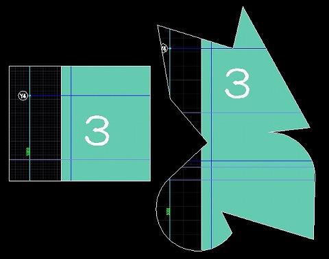 複雑な形状のビューポート