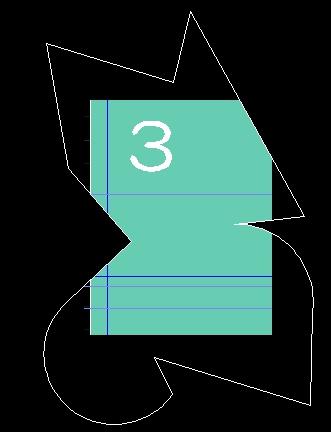 多角形のビューポートなのに表示は四角形